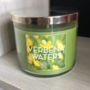 Verbena Waters candle